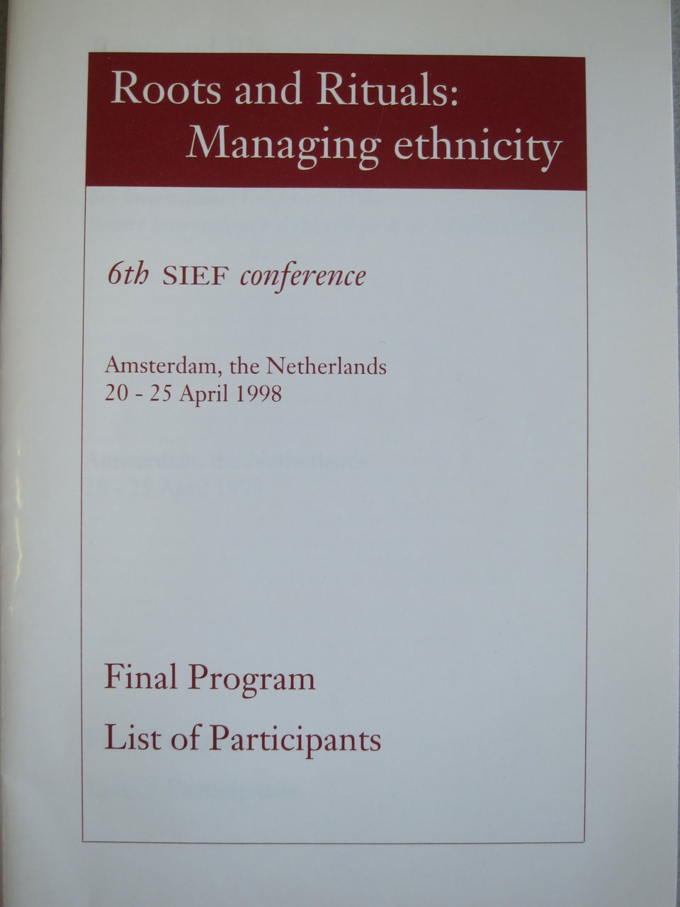 sief1998 cover