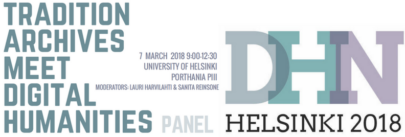 The Digital Humanities in the Nordic Countries Conference